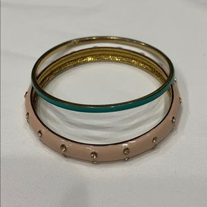 Blue J. Crew Enamel Bangle